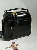 Маленькая кожаная сумка- клатч 0660