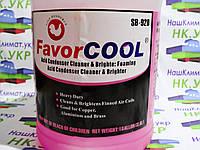 Средство для чистки кондиционеров FavorCool Sb-920 (кислотное вспенивание) розовый 3,8л