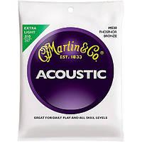 Струны Martin M530 Phosphor Bronze Extra Light (0.10-0.47) для акустической гитары