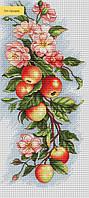 """Набір для вишивання Luca-S B211 """"Композиція з яблуками"""""""