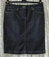 Юбка джинсовая модная карандаш Esprit р.42 7213а