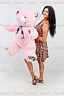 Большой плюшевый мишка, медведь Клетка 135 розовый