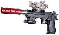 Детский пистолет стреляющий водяными шариками M3
