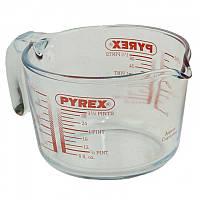 Мерный стакан Pyrex (стеклянная кружка термостойкая)