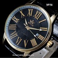 Механічний чоловічий годинник SEWOR №58 з автопідзаводом мужские механические часы с автоподзаводом