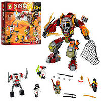 "Конструктор ""Робот Ронина"" SY591 Ninja, 465 деталей"