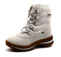 """Ботинки зимние высокие """"ANDA"""", белые, р. 37 38 39 40"""