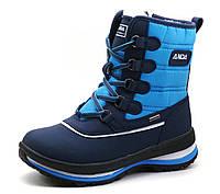 """Ботинки зимние высокие """"ANDA"""", синие, р. 37 38 39 40, фото 1"""