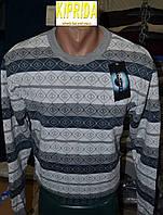 Мужской свитер с длинным рукавом