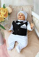 """Одежда для выписки из роддома и крестин для новорожденных и грудничков """"Джентльмен"""""""