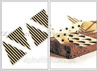 Посыпки из бельгийского шоколада — Полоска 0,9 кг