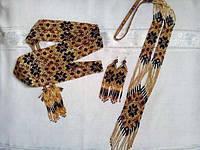 Комплект намисто сережки і браслет  (Комплект ожерелье, сережки и браслет) LN-0001