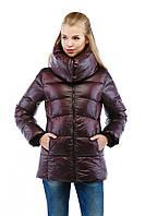 Модная зимняя женская куртка короткая в 5ти цветах К-31