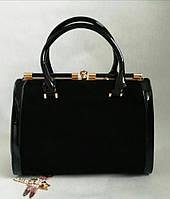 Красивая замшевая сумка 0652