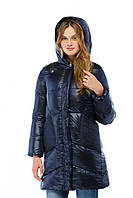 Стильная женская удлиненная зимняя куртка в 6ти цветах К-11д ех