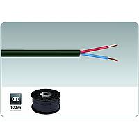 Медный акустический кабель в дополнительной изоляции 2х1.5мм2 Monacor SPC-515/SW