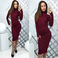 Платье женское Подиум бордо , платья интернет