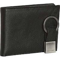 Мужской кожаный кошелек Calvin Klein Оригинал из Америки качество мягкая кожа Кельвин Кляйн кожаное портмоне