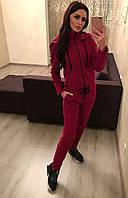 Женский модный комбинезон с капюшоном в спортивном стиле