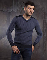 Серый мужской свитер от турецкого производителя одежды MCR