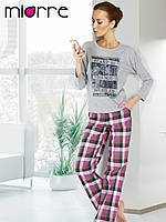 Пижама Miorre с принтом, длинный рукав