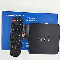 MXV Amlogic S905 2G 8Gb Android 5.1 TV Box 64bits 2.0GHz Quad Core 4K андроид приставка ТВ бокс