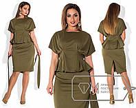 Женский костюм юбочный 48-54