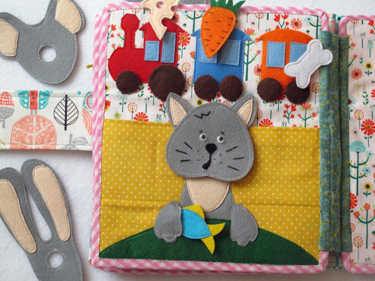 Детские книжки из фетра своими руками фото 55