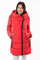 Удлиненное пальто на синтепоне зима 2016-2017
