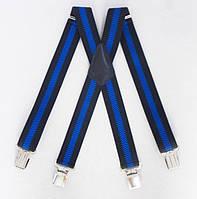 Мужские подтяжки Paolo Udini черно-синие