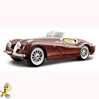 Авто-конструктор - Jaguar XK 120 Roadster 1948 вишневый, 124