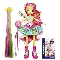 My Little Pony Equestria Girls My Little Pony Девочки Эквестрии Флаттершай Стильные прически  Fluttershy Rockin' Hairstyle Dolle
