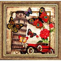 Набор для вышивания бисером Butterfly 112 Привет из Италии