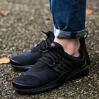 "Кроссовки женские Nike Presto (GS) ""Triple Black"""