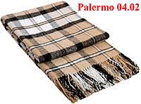 Плед  полуторный 140х200, тм. VLADI, Палермо «Palermo» 04.02 (бел-беж-кор)