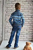 Джинсы  для мальчиков, рост от 110 до 135 см, писк сезона