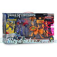 Игрушка трансформер Оптимус Прайм + Бамблби в комплекте: размер 30 см