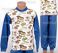 Детская пижама на мальчика интерлок AYL D20 5-R. Размер на 5 лет.
