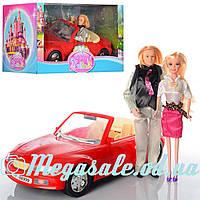 """Игровой набор Bettina кукла """"Семья"""" с машинкой, 44см: кукла 29см"""