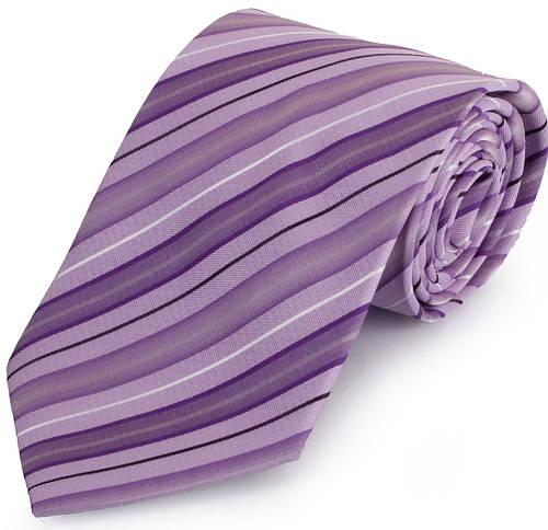 Оригинальный мужской широкий галстук SCHONAU & HOUCKEN (ШЕНАУ & ХОЙКЕН) FAREPS-61 фиолетовый