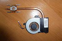 Система охлаждения, радиатор, вентилятор ASUS X55A, X55C, 13GNBH1AM020-1.