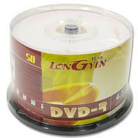Диск DVD R LONGYIN 4 7 GB для видео