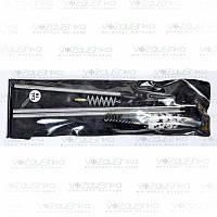 Набор для чистки гладкоствольного оружия калибр 16 в ПВХ упаковке