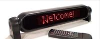 Автомобильный коммуникатор - кириллица + латиница, car messenger, Autotext, подарок автомобилисту
