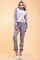 Женский спортивный костюм Элис белый 42-48 размеры Jadone