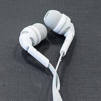 Гарнитура AIYALE A38 (Белый) наушники вакуумные с микрофоном для самсунга айфона гелекси 3.5 iphone samsung