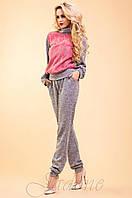Женский спортивный костюм Элис коралловый 42-48 размеры Jadone