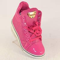 Стильные ботинки сникерсы для девочки