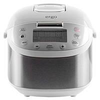 Мультиварка кухонная ERGO EFC 5010 (Серебро) пароварка  для овощей выпечка йогурт