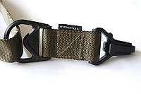 Ремінь тактичний збройний двоточковий Magpul MS3 Olive / Ремень тактический оружейный Магпул МС3 Олива реплика